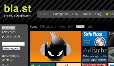 bl.ast homepage