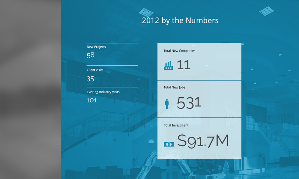 SEDA Annual Report 2012 screen shot