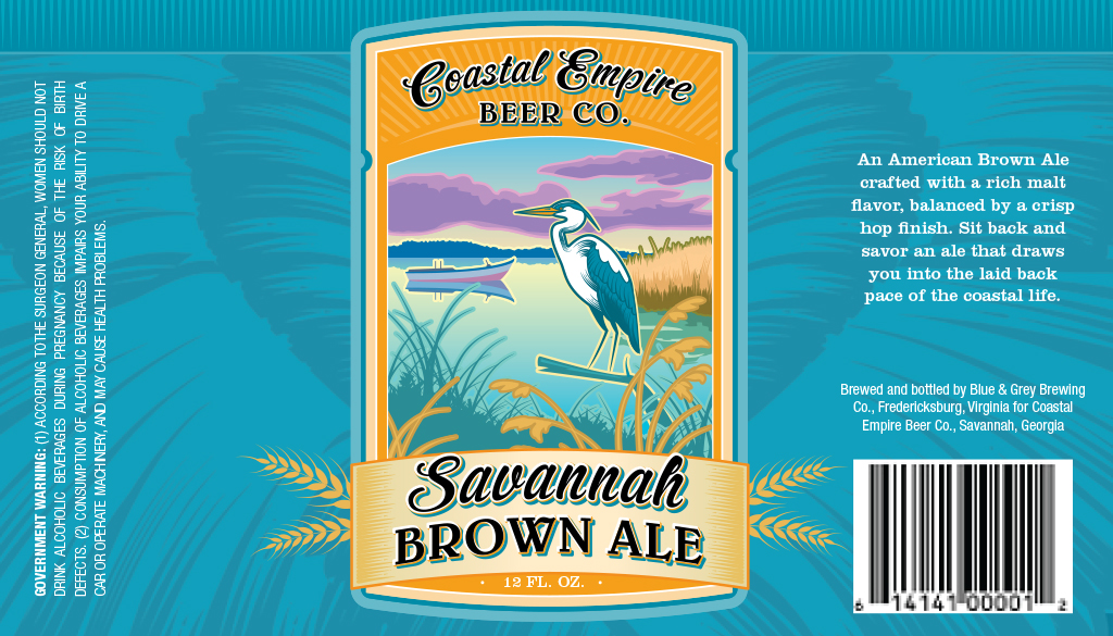 Coastal Empire Beer Company : Brown Ale