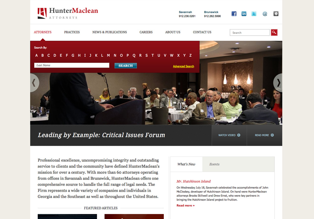 HunterMaclean Attorney Search