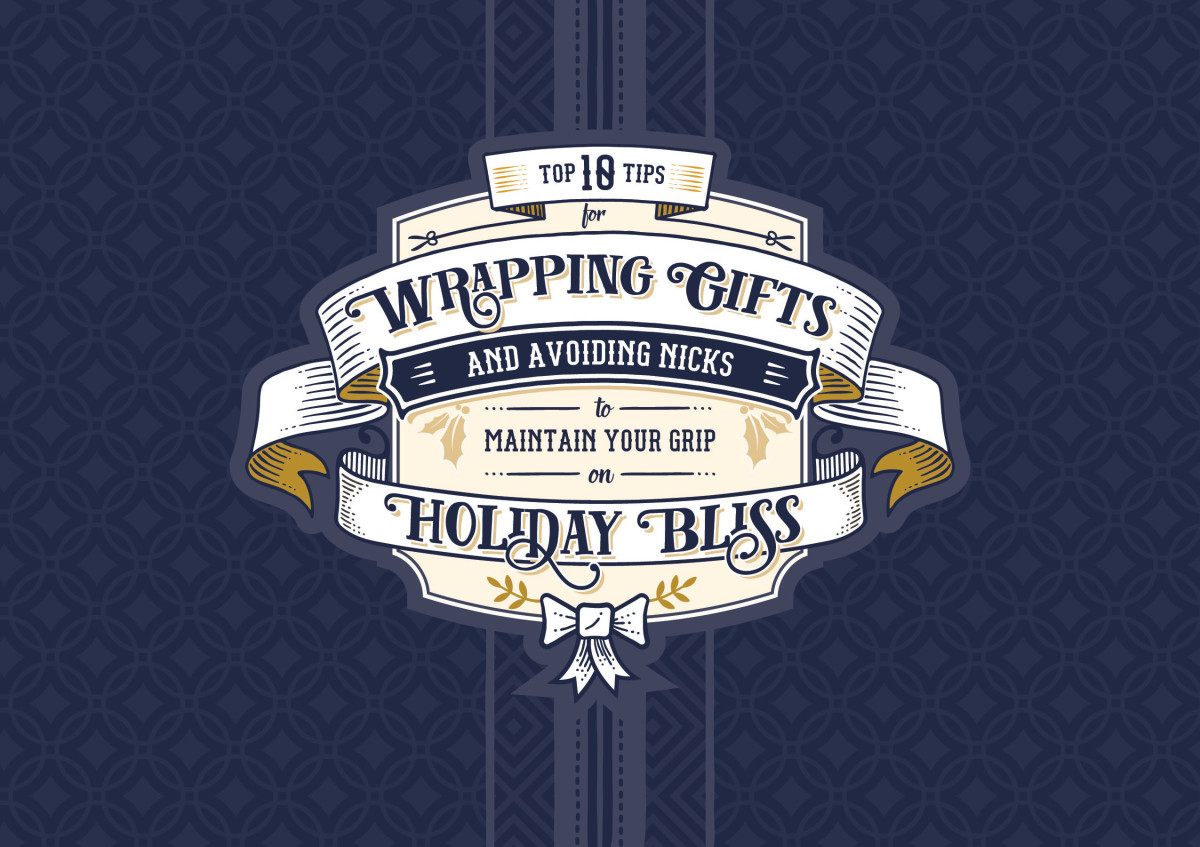 Holiday mailer wrapping cover
