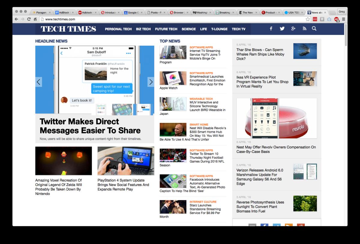 With Adblock Plus - Blocking 11 Ads